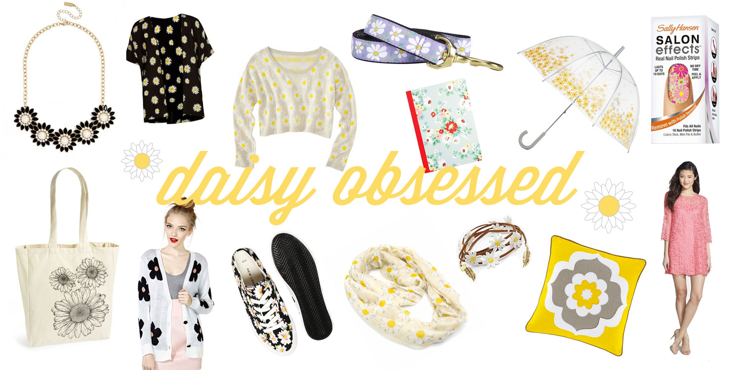 Daisy Obsessed Fashion Style Board Picks