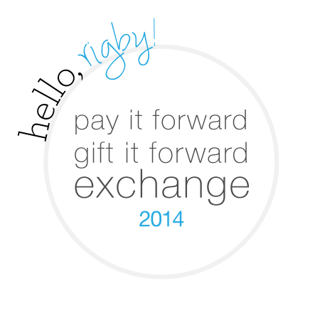 Pay It Forward, Gift it Forward Exchange 2014