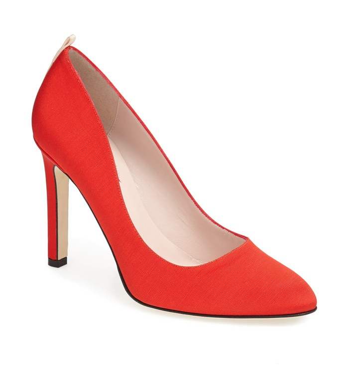 SJP Collection Lady Pump Red