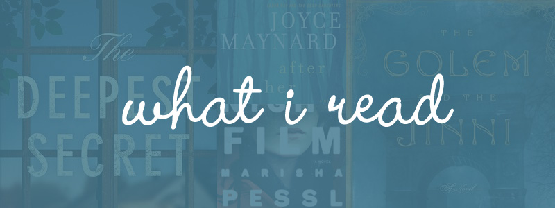 What I Read: February 2014