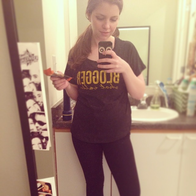 gym selfie / humpday confessions / hello, rigby!