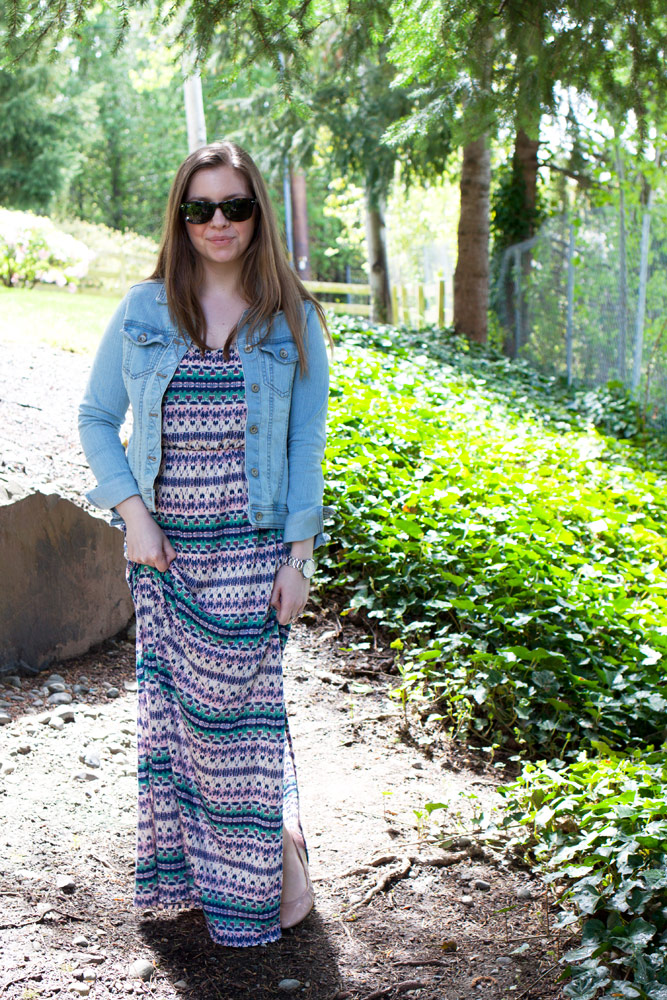 Jean Jacket + Maxi Dress / hello, rigby!