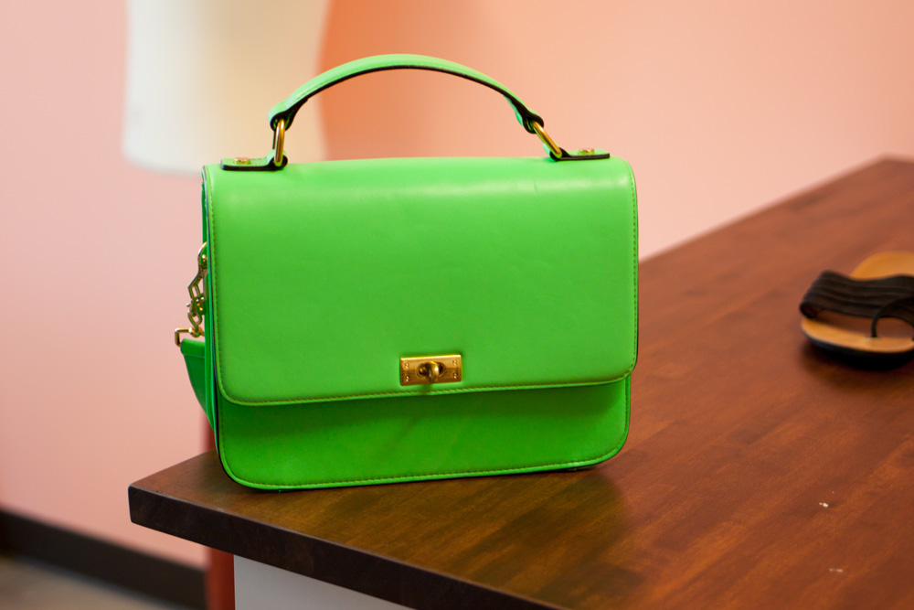 Luxury on Demand Neon Handbag / hello, rigby!
