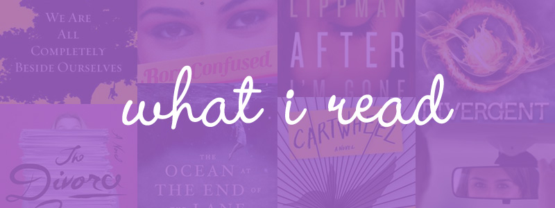 what i read april 2014 / hello, rigby!