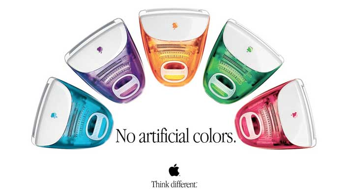 Apple iMac G3 Artificial Colors / hellorigby!