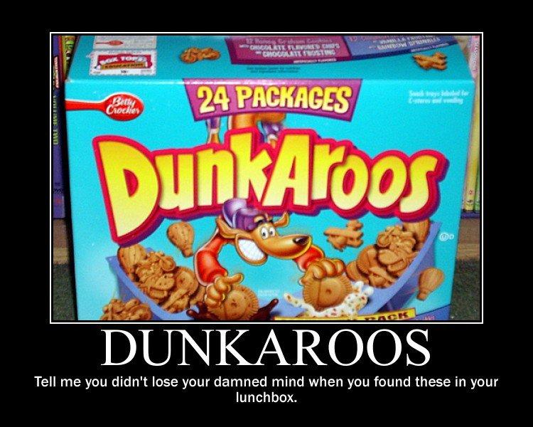 Dunkaroos Lose Your Mind Meme / hellorigby!