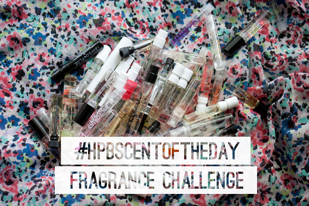 #hpbscentoftheday fragrance challenge / hellorigby! fashion + lifestyle blog