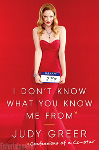 I Don't Know What You Know Me From by Judy Greer / what i read may 2014 / hellorigby!