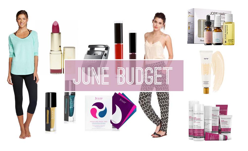 June Budget Challenge / hellorigby!
