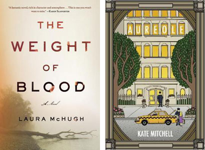 The Weight of Blood by Laura McHugh and Aureole by Kate Mitchell / what i read may 2014 / hellorigby!