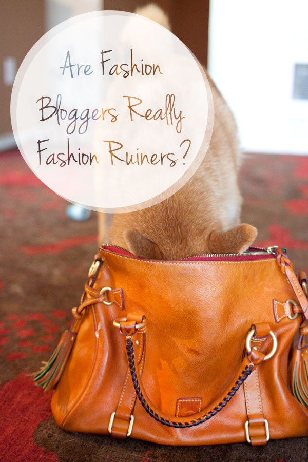 Are Fashion Bloggers Really Fashion Ruiners? / hellorigby!