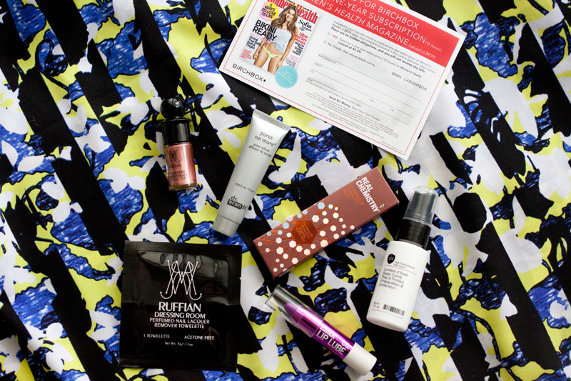 Birchbox July 2014 / hellorigby!