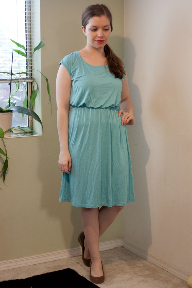 Gilli Alenna Elastic Waist Dress / Stitch Fix Review / hellorigby!
