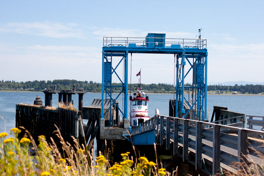 The Ferry at Gooseberry Point / hellorigby!