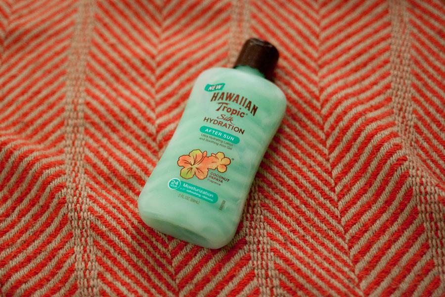 Hawaiian Tropic Silk Hydration After Sun Lotion / Influenster Surf's Up Voxbox / hellorigby!