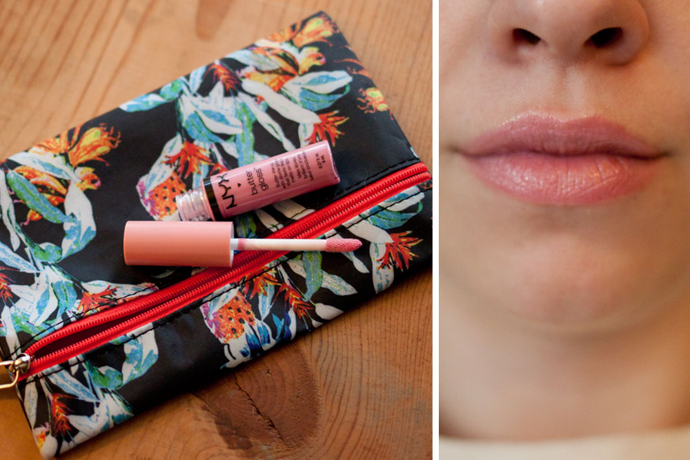 NYX Butter LIp Gloss in Eclair / Ipsy Glam Bag June 2014 / hellorigby!