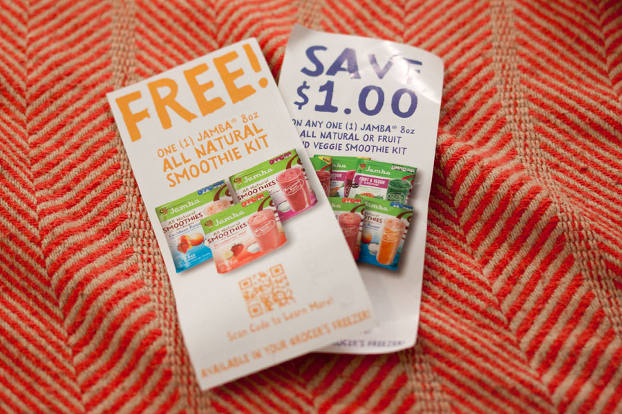 Jamba Juice All Natural Smoothie Kit Coupons / Influenster Surf's Up Voxbox / hellorigby!