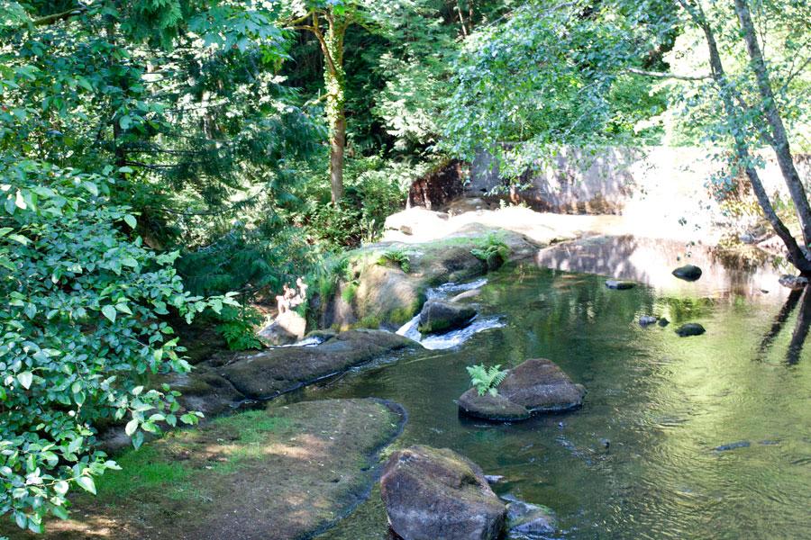 The Falls at Whatcom Falls Park / Bellingham Adventures / hellorigby!