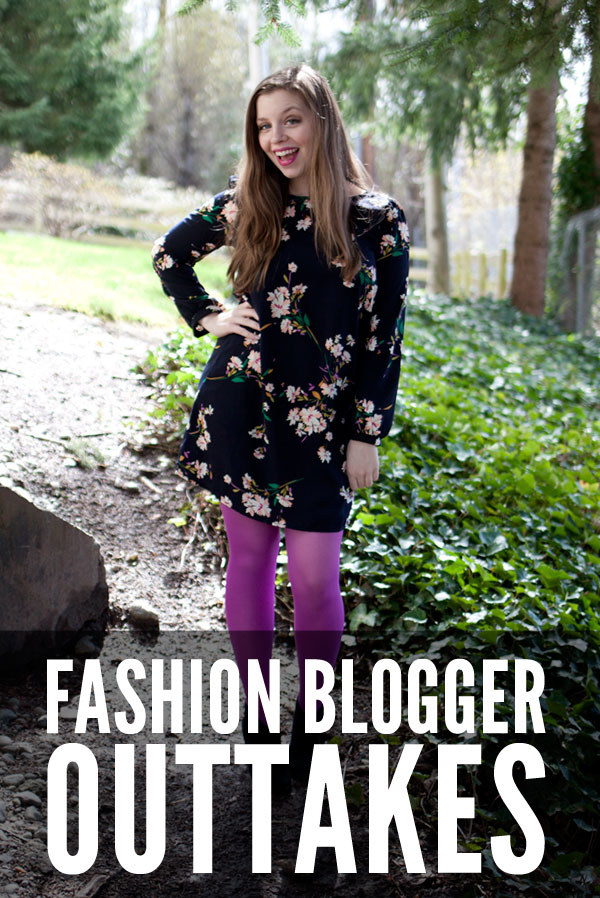 Fashion Blogger Outtakes, because fashion can be funny - hellorigby!