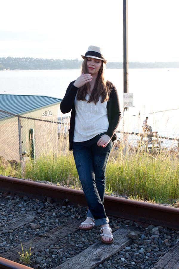 Fashion Blogger Outtakes - Boyfriend Jeans / hellorigby!
