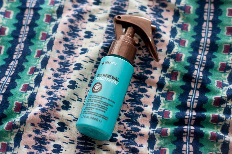 Sexy Hair Soy Renewal Beach Spray / Ipsy July 2014 / hellorigby!