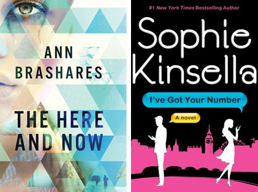 The Here and Now by Ann Brashares amd I've Got Your Number by Sophie Kinsella / summer reading / hellorigby!