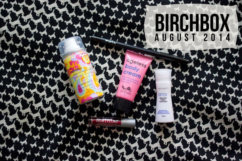 Birchbox August Subscription Box Review 2014 / hellorigby!