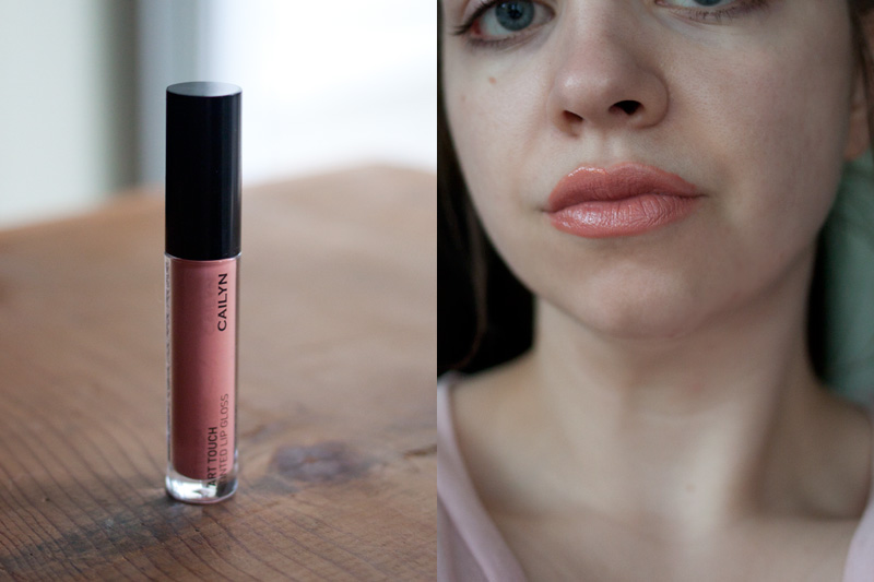 Ipsy Cailyn Art Touch Tinted Lip Gloss in Basic Instinct + Swatch / hellorigby!