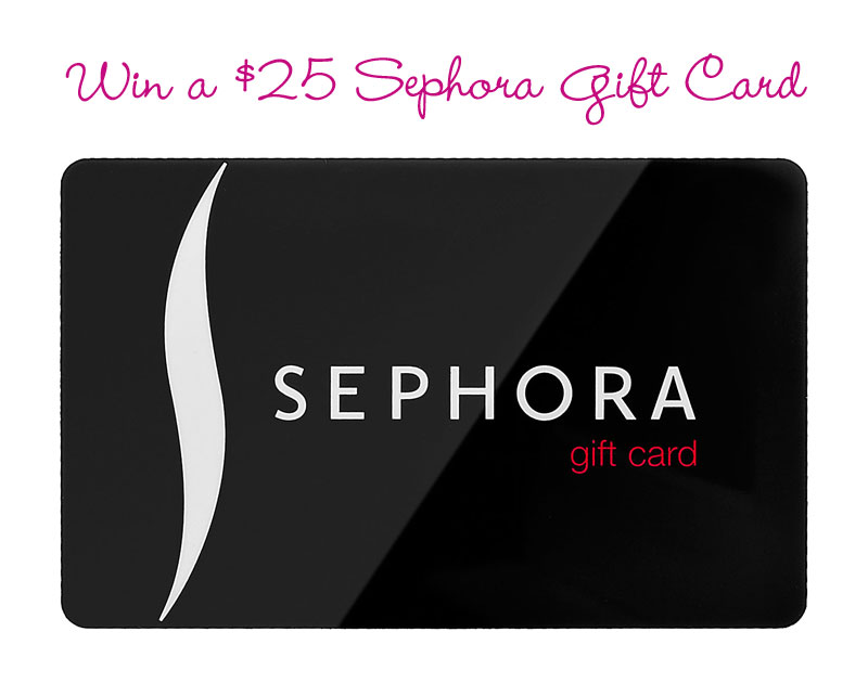 Sephora Gift Card Giveaway / hellorigby!