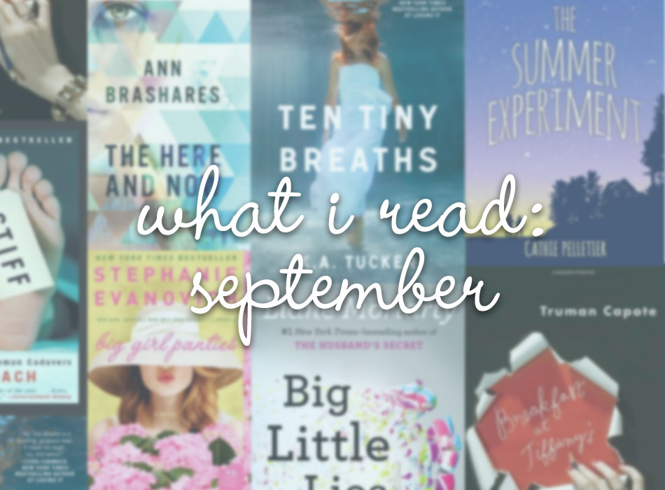 What I Read / September Reading & Goodreads Link Up / hellorigby!