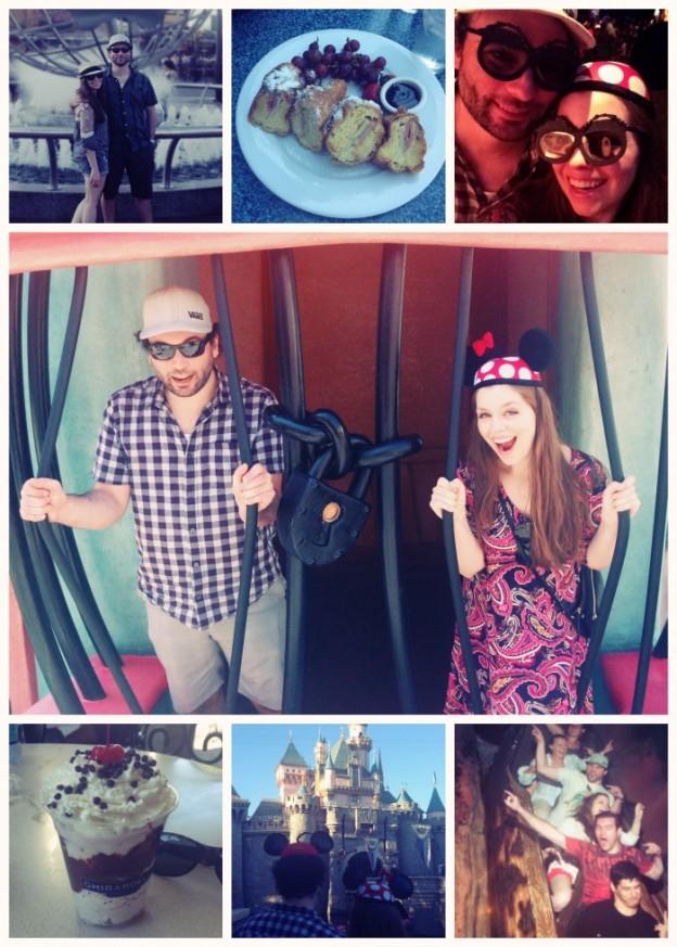 Disneyland Collage / hellorigby!