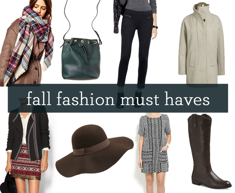 Fall Fashion Must Haves / hellorigby!
