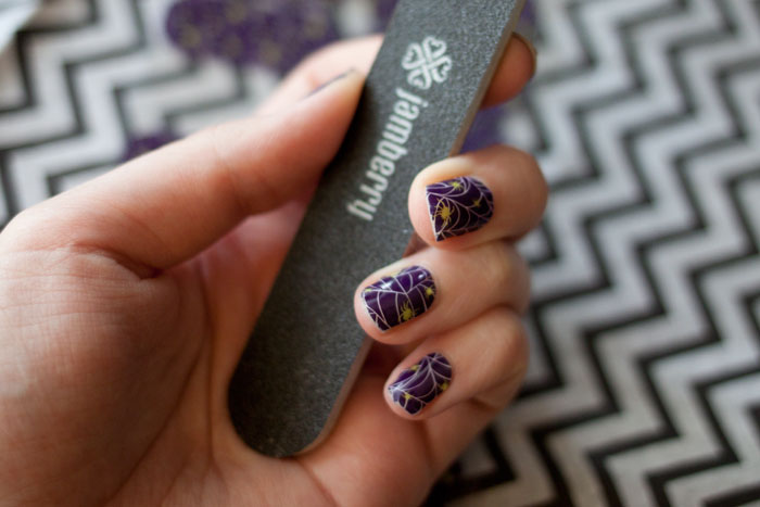 Jamberry Nails Halloween Nail Wraps / hellorigby!