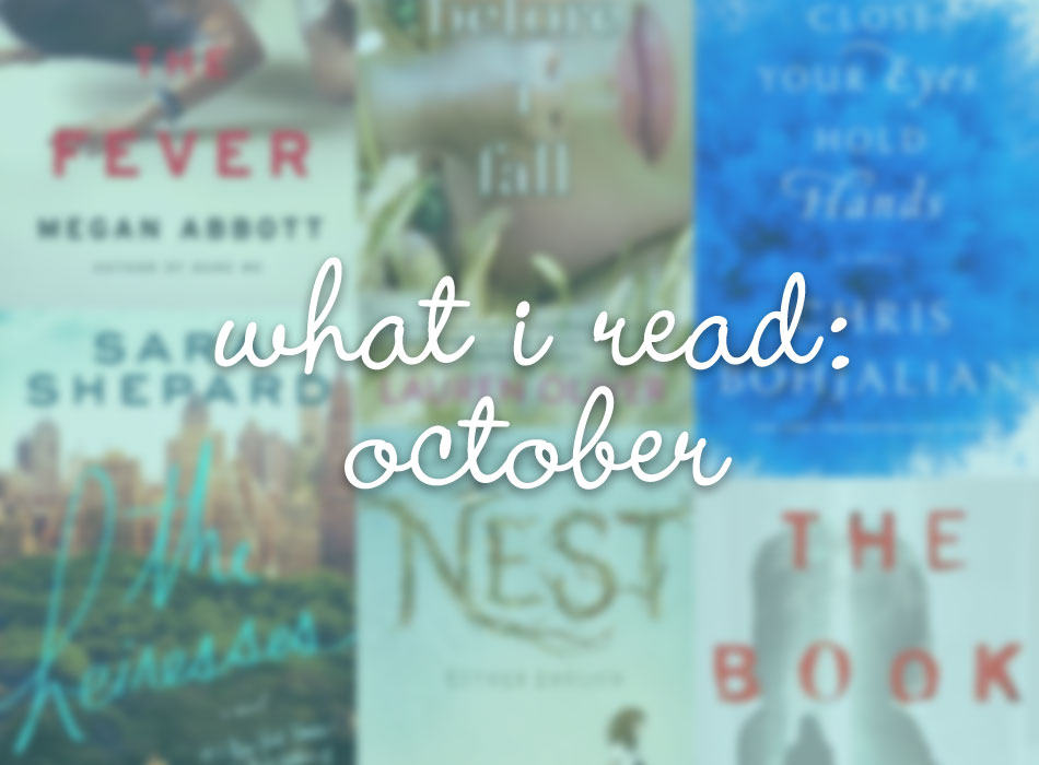 Semi Charmed Winter Book Challenge & What I Read October / hellorigby!