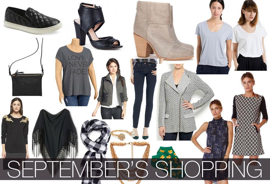 September's Shopping Budget / hellorigby!