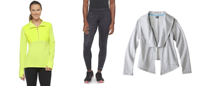 Target C9 by Champion Leopard Legging, Run Zip Pullover, and Open Layering Top / hellorigby!