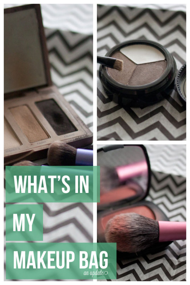 What's in my Makeup Bag, an Update / hellorigby!