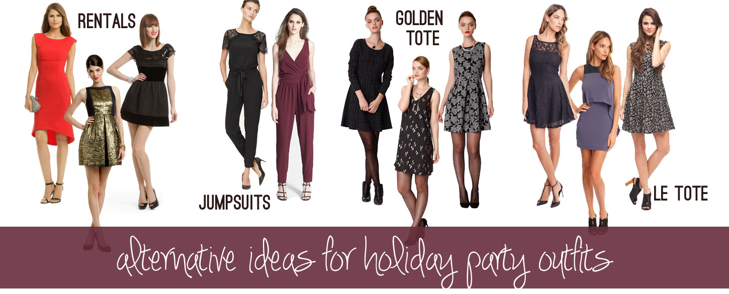 Alternative Holiday Party Outfits / hellorigby!
