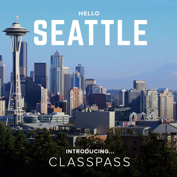 ClassPass Seattle Launch Day November 2014 / hellorigby!