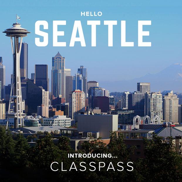 ClassPass Seattle Launch Day November 2014 / hellorigby!