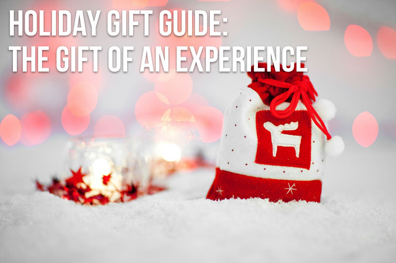 Holiday Gift Guide: The Gift of an Experience / hellorigby!