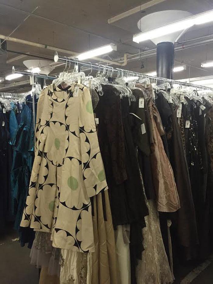 Seattle Goodwill Glitter Sale 2014 Preview / Modern Dresses / hellorigby!