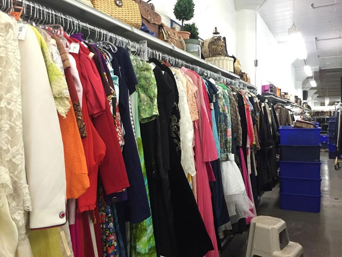Seattle Goodwill Glitter Sale 2014 Preview / Vintage Dresses / hellorigby!
