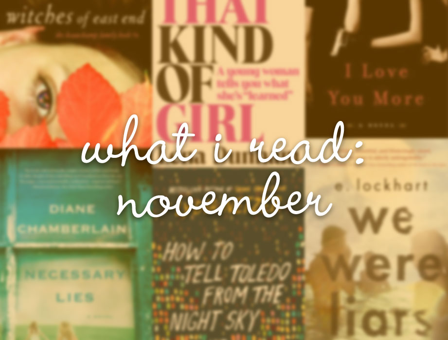 What I Read November / hellorigby!