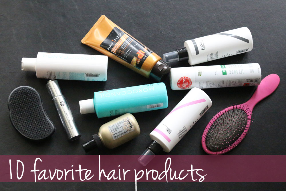10 Favorite Hair Products / hellorigby!