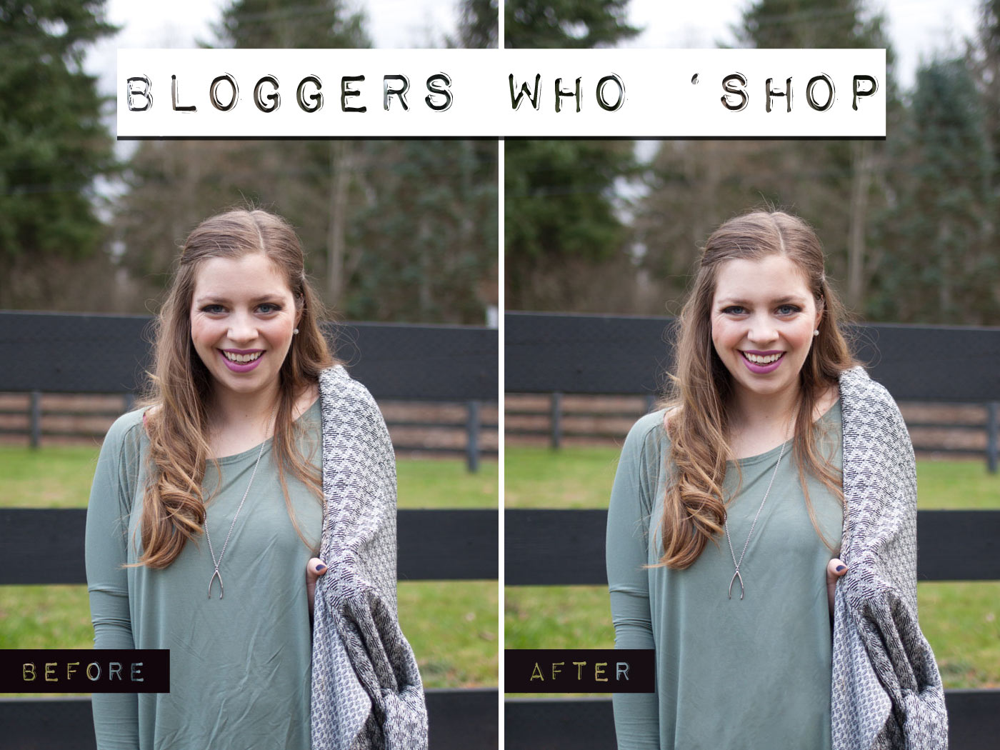 Bloggers Who Photoshop Their Images / hellorigby!