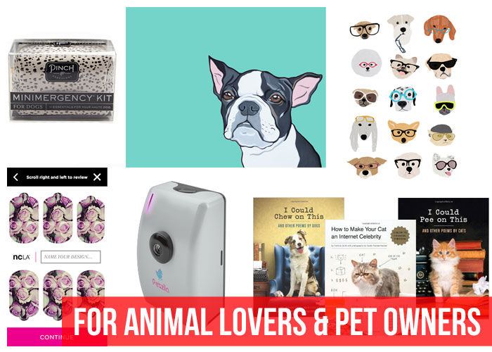 Holiday Gift Guide: Gifts or Animal Lovers & Pet Owners / hellorigby!