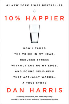 10% Happier by Dan Harris Review / hellorigby!
