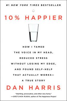 10% Happier by Dan Harris Review / hellorigby!