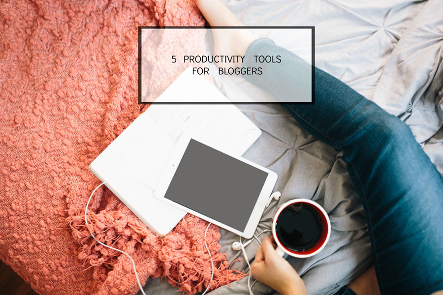 5 Productivity Tools for Bloggers / @pinkpotxo for @hellorigby